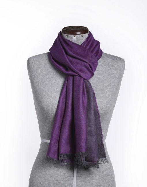 doubleface1413 grey purple