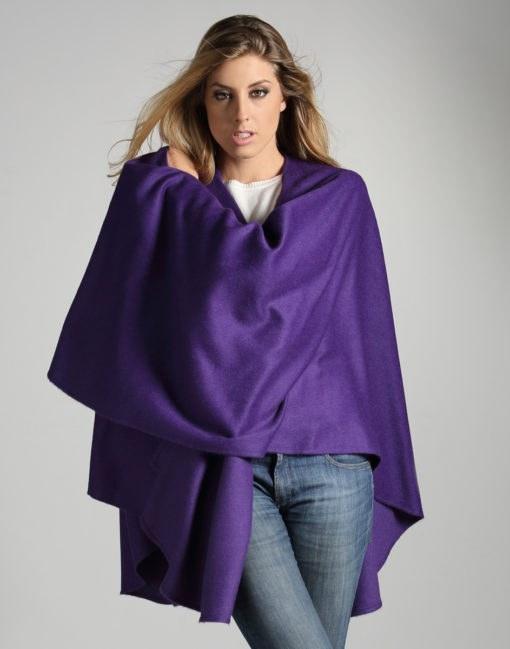 ruana purple