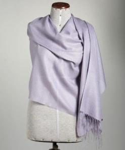 shawl plain SILVER ROSE