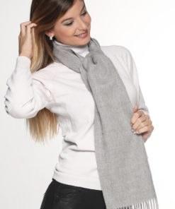 solid silver grey